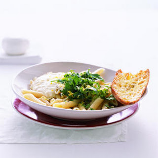 Pasta with Ricotta, Herbs, and Lemon