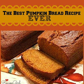Pumpkin Bread.