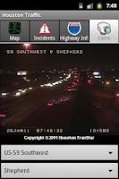 Screenshot of Houston Traffic