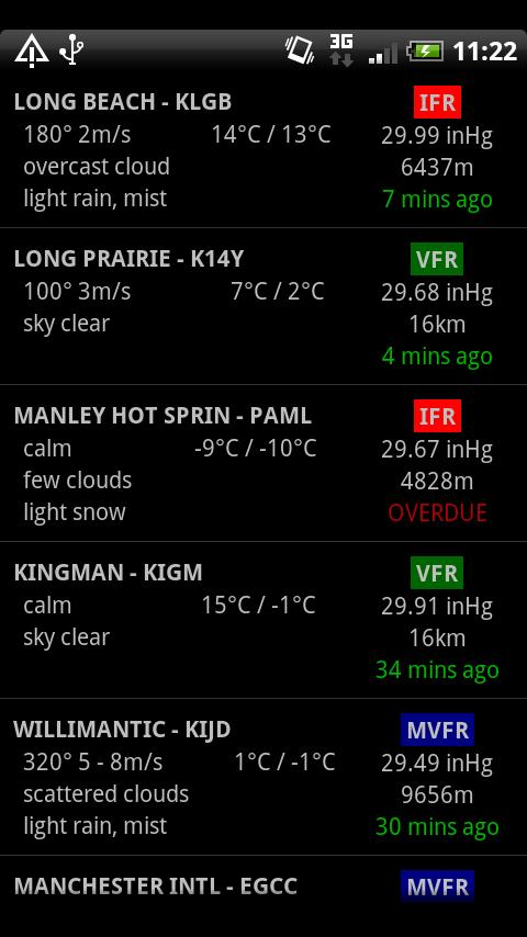 AirReport Lite - METAR & TAF - screenshot