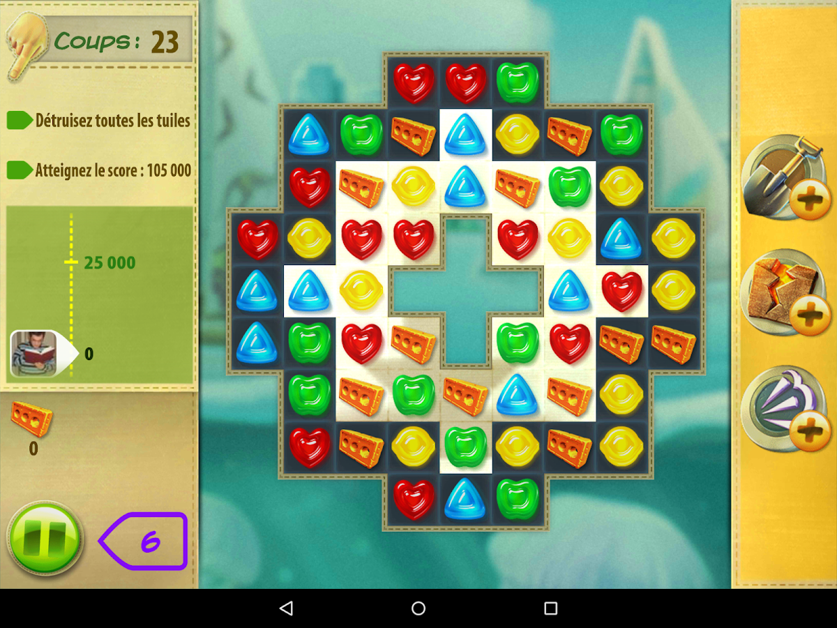 Gummy drop applications android sur google play for Gummy drop big fish games