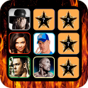 Wrestling Stars Memory Game icon