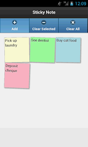 Sticky Note screenshot 2