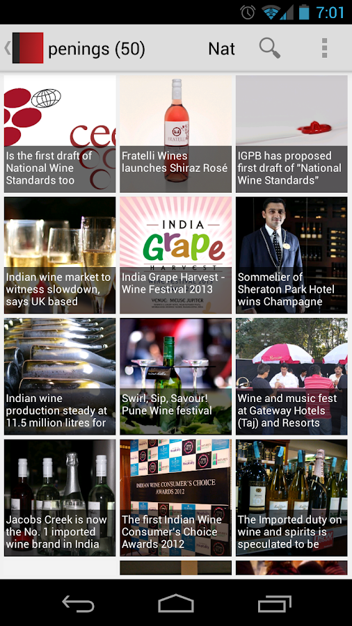Wine India- screenshot