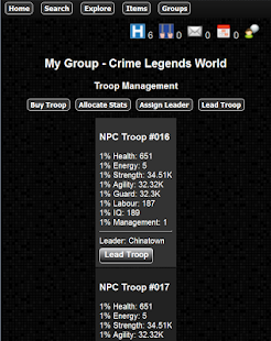 Crime Legends RPG- screenshot thumbnail