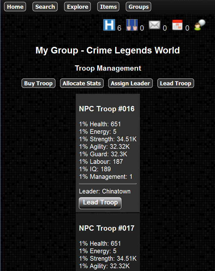 Crime Legends RPG- screenshot