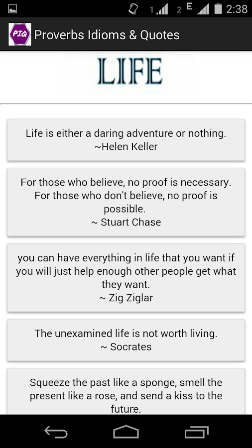 Proverbs, Idioms & Quotes - Android Apps on Google Play