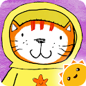 Poppy Cat Bubble Volcano Free icon