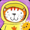 Poppy Cat Bubble Volcano Free icon