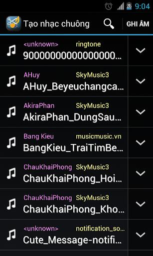 Tao nhac Chuong