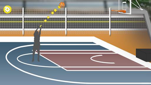 Basketball freethrow fun easy