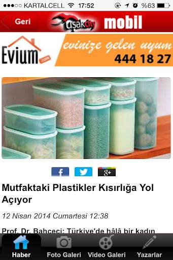 新聞必備APP下載|Uşak City Haber 好玩app不花錢|綠色工廠好玩App