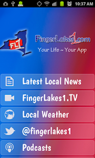 FingerLakes1.com- screenshot thumbnail
