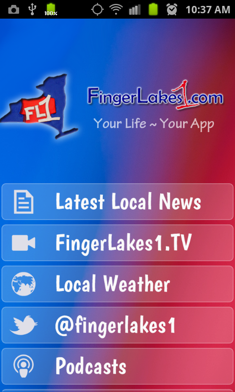 FingerLakes1.com - screenshot