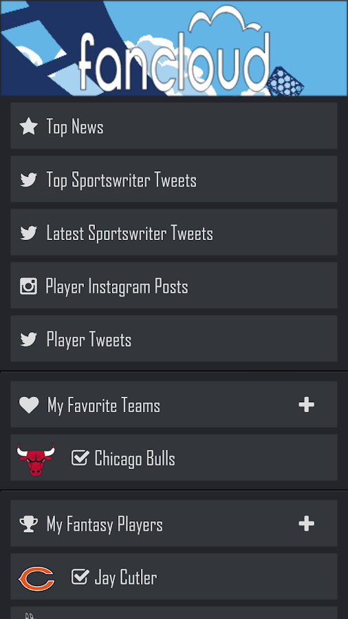 Fancloud Sports News - screenshot