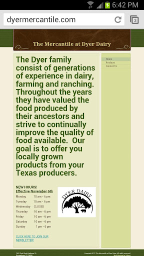 The Mercantile At Dyer Dairy