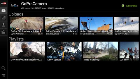 YouTube for Google TV Screenshot 7