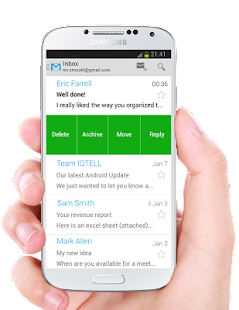 IQTELL Email app and GTD® Screenshot 2