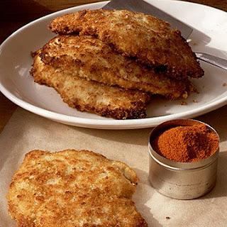 Fried Chicken Paillard.