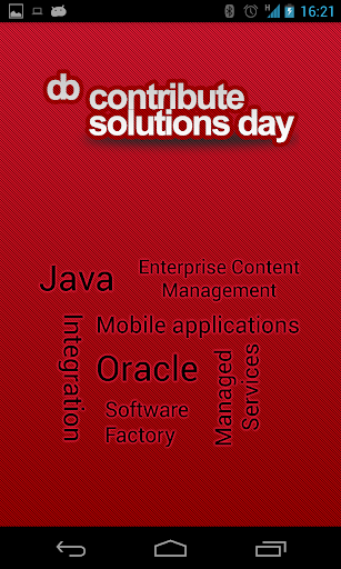 Contribute Solutions Day