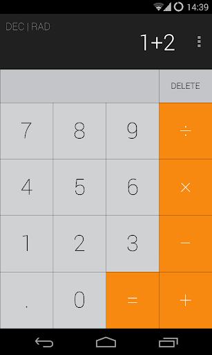 Calculator iOS7 Theme