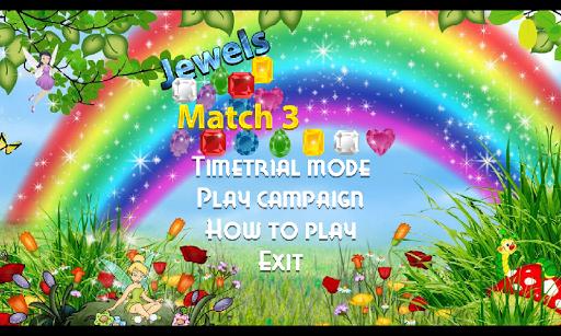 Match 3 Jewels Game