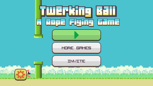 Twerking Ball: Rope Flying