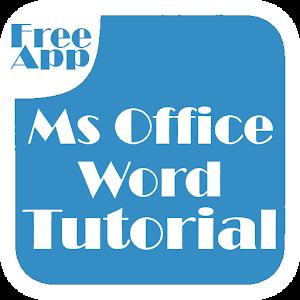 Office Word Tutorial 程式庫與試用程式 App LOGO-APP試玩
