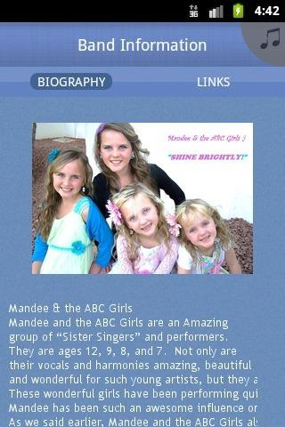 Mandee and the ABC Girls - screenshot