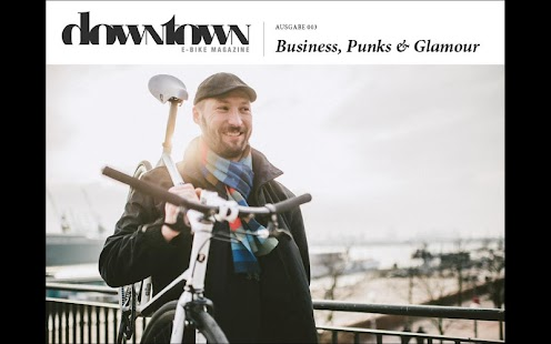 Downtown E-Bike Magazine- screenshot thumbnail