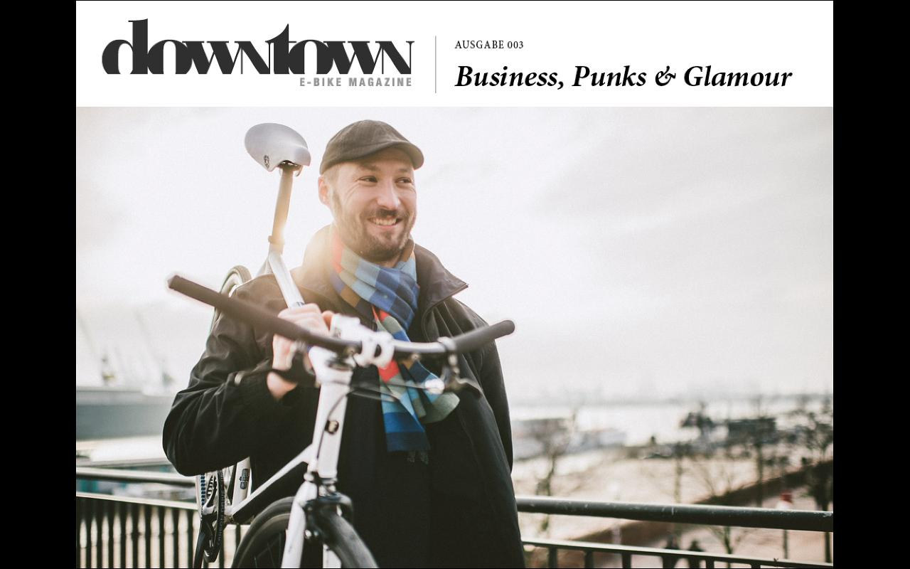 Downtown E-Bike Magazine- screenshot