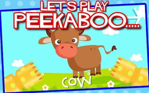 Peekaboo Farm Animals for Kids