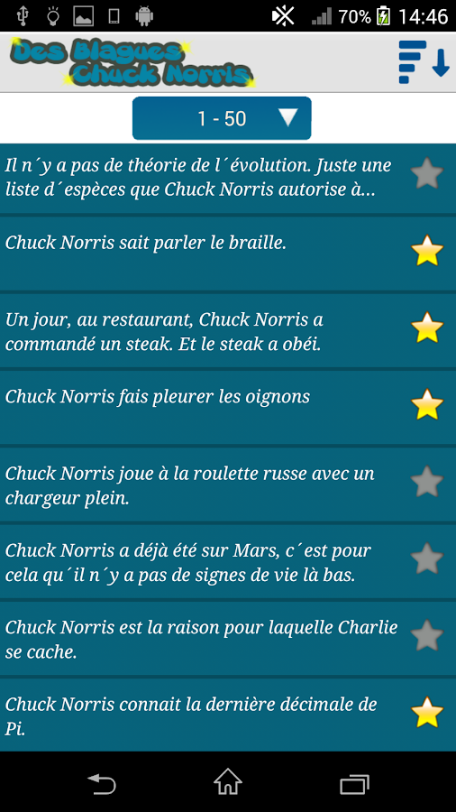 des blagues chuck norris android apps on google play. Black Bedroom Furniture Sets. Home Design Ideas