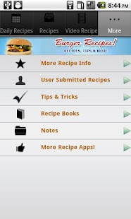 Burger Recipes! - screenshot thumbnail
