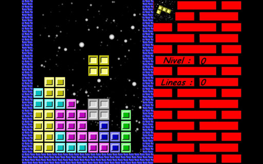 Space of Tetris