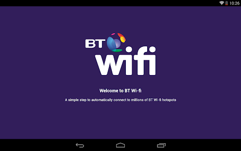 BT Wi-fi - screenshot thumbnail