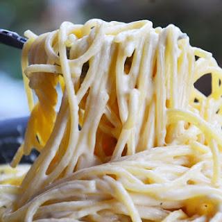 Cheesy Spaghetti.