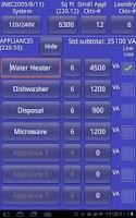 Screenshot of Electrical Load Calc Pro