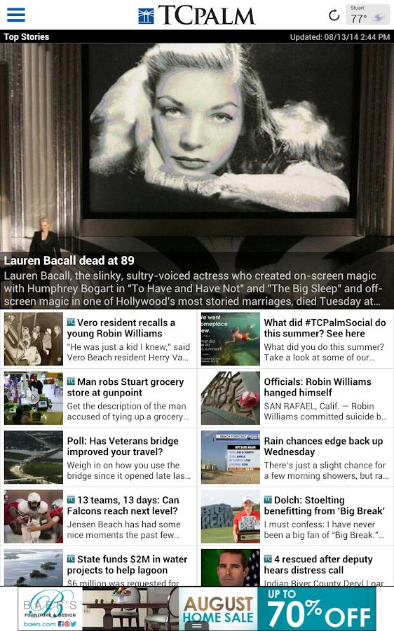 TCPalm - screenshot