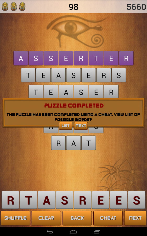 Word Pyramid Free- screenshot
