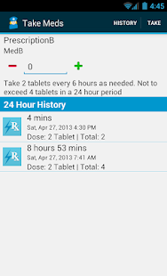 Med Helper Pill Reminder - screenshot thumbnail