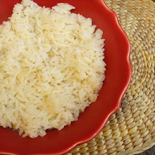 Simple Basmati Rice.