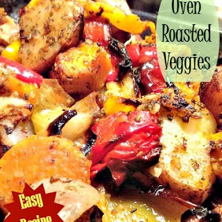 Roasted Garlic & Herb Vegetables