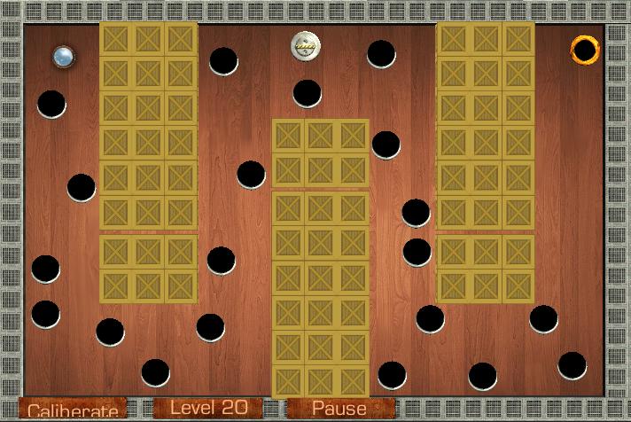 Wooden Labyrinth - screenshot