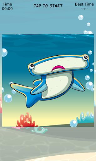 【免費解謎App】Fish Sliding Puzzle-APP點子