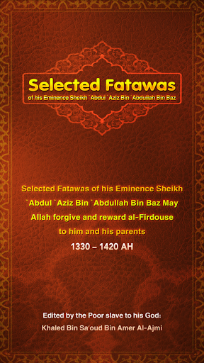 Selected Fatawas