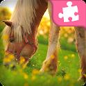 Horse Jigsaw Puzzle icon