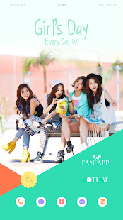 GIRL'S DAY Buzz Launcher Theme - screenshot thumbnail