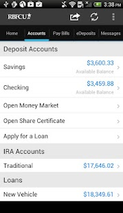 RBFCU Mobile - screenshot thumbnail