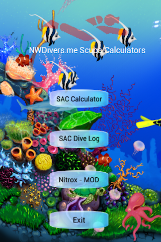 NWDivers.me Scuba Calculators